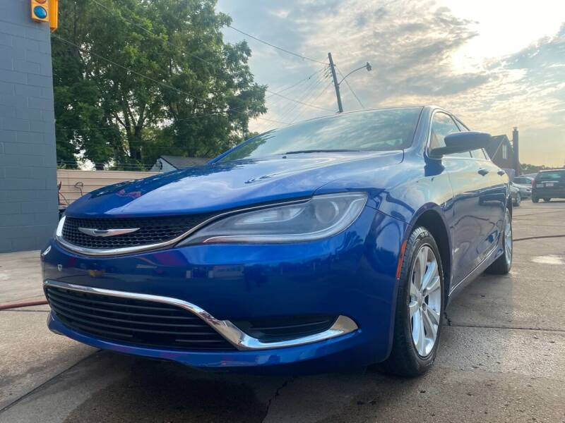 2015 Chrysler 200 for sale at Matthew's Stop & Look Auto Sales in Detroit MI