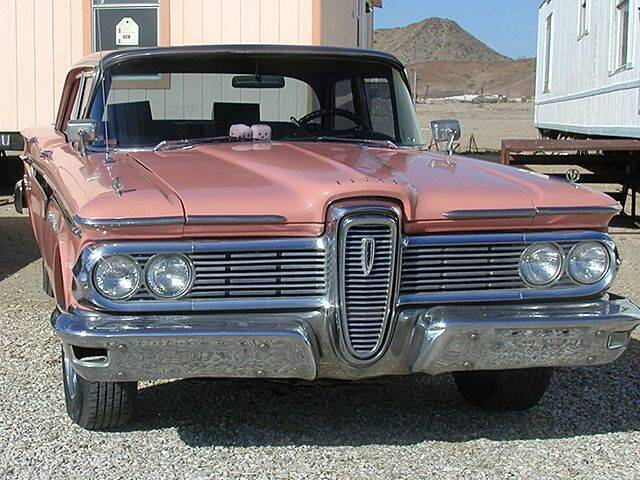 1959 Edsel RANGER for sale at Collector Car Channel - Desert Gardens Mobile Homes in Quartzsite AZ