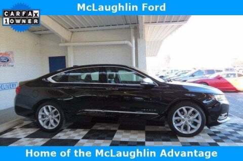 2020 Chevrolet Impala for sale at McLaughlin Ford in Sumter SC