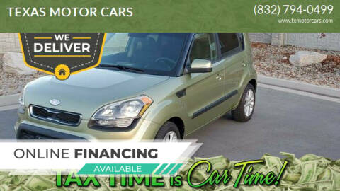 2012 Kia Soul for sale at TEXAS MOTOR CARS in Houston TX