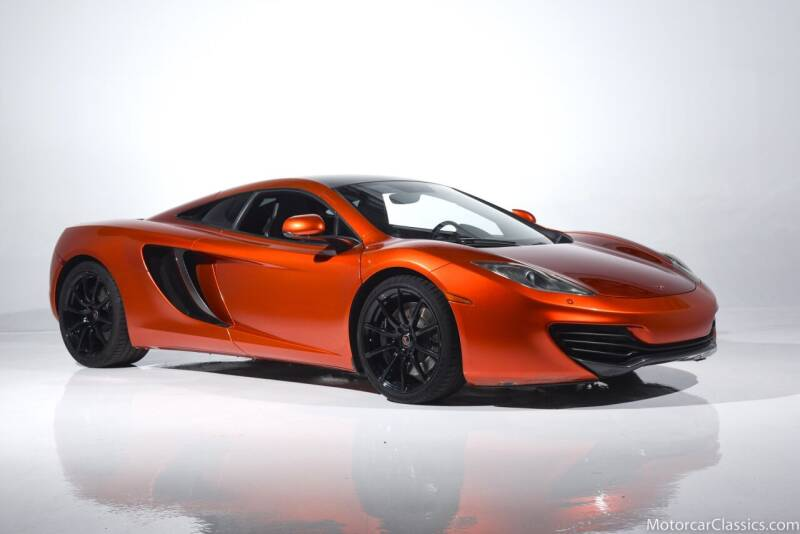 2012 McLaren MP4-12C for sale at Motorcar Classics in Farmingdale NY