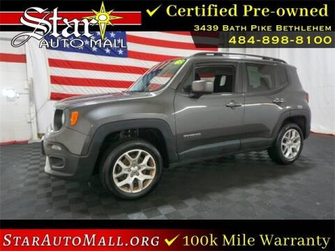 2016 Jeep Renegade for sale at STAR AUTO MALL 512 in Bethlehem PA