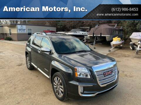 2017 GMC Terrain for sale at American Motors, Inc. in Farmington MN