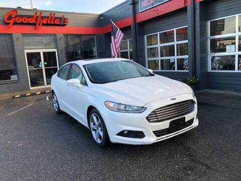 2014 Ford Fusion for sale at Goodfella's  Motor Company in Tacoma WA