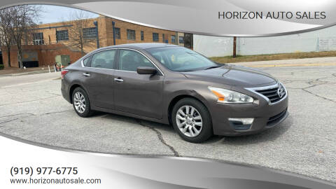 2014 Nissan Altima for sale at Horizon Auto Sales in Raleigh NC