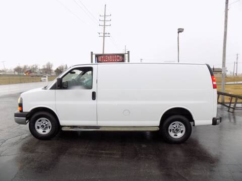 2014 GMC Savana Cargo for sale at MYLENBUSCH AUTO SOURCE in O` Fallon MO