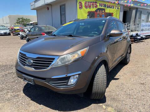 2011 Kia Sportage for sale at 3 Guys Auto Sales LLC in Phoenix AZ