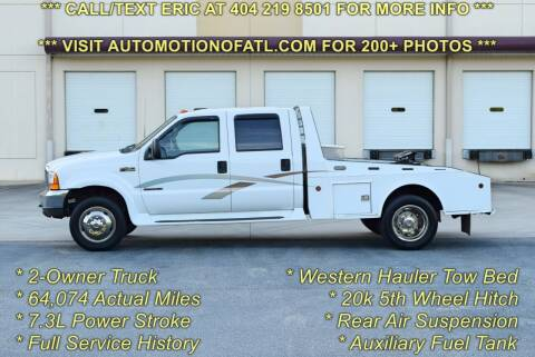 2000 Ford F-450 Super Duty for sale at Automotion Of Atlanta in Conyers GA