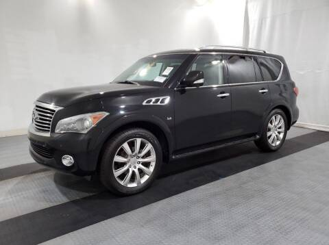 2014 Infiniti QX80 for sale at Collection Auto Import in Charlotte NC