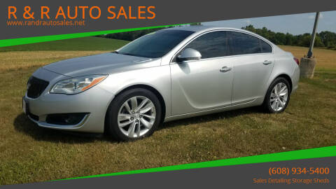 2014 Buick Regal for sale at R & R AUTO SALES in Juda WI