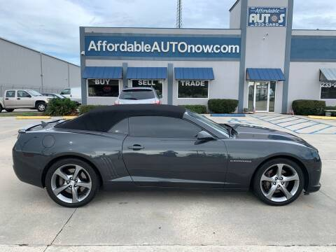 2013 Chevrolet Camaro for sale at Affordable Autos in Houma LA