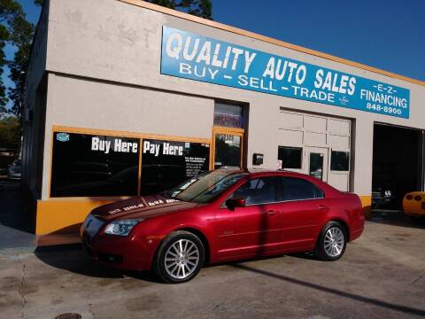 2007 Mercury Milan for sale at QUALITY AUTO SALES OF FLORIDA in New Port Richey FL