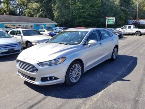 2015 Ford Fusion for sale at 6348 Auto Sales in Chesapeake VA