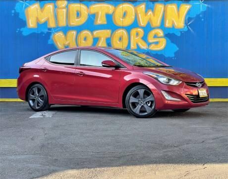 2014 Hyundai Elantra for sale at Midtown Motors in San Jose CA