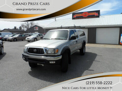 2003 Toyota Tacoma for sale at Grand Prize Cars in Cedar Lake IN