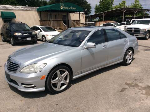 2010 Mercedes-Benz S-Class for sale at OASIS PARK & SELL in Spring TX