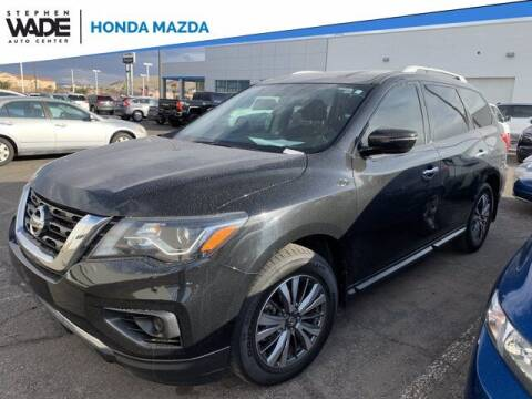 2018 Nissan Pathfinder for sale at Stephen Wade Pre-Owned Supercenter in Saint George UT