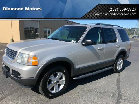 2003 Ford Explorer for sale at Diamond Motors in Lakewood WA