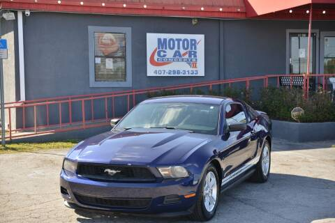 2012 Ford Mustang for sale at Motor Car Concepts II - Colonial Location in Orlando FL