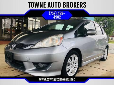 2009 Honda Fit for sale at TOWNE AUTO BROKERS in Virginia Beach VA