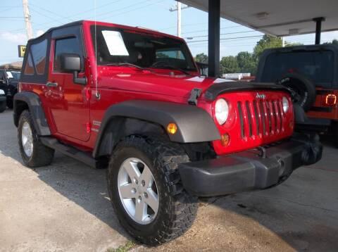 2010 Jeep Wrangler for sale at Broken Arrow Motor Co in Broken Arrow OK