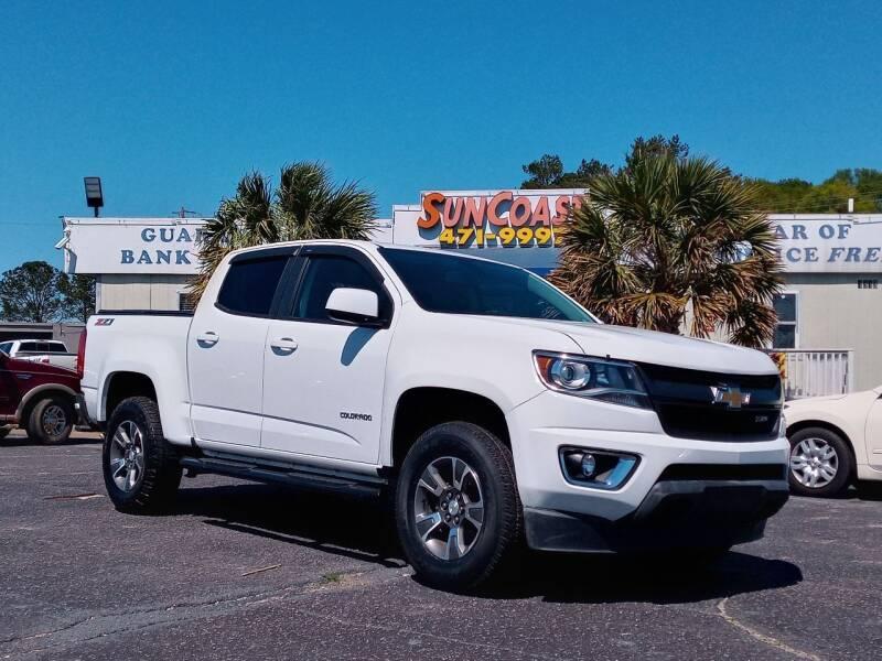 2017 Chevrolet Colorado for sale at Sun Coast City Auto Sales in Mobile AL