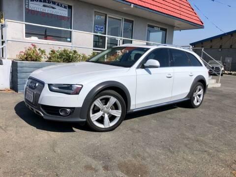 2014 Audi Allroad for sale at BOARDWALK MOTOR COMPANY in Fairfield CA