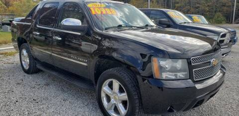 2011 Chevrolet Avalanche for sale at COOPER AUTO SALES in Oneida TN