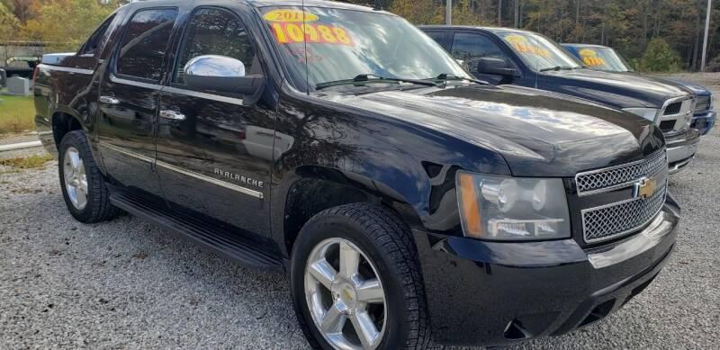 2011 Chevrolet Avalanche for sale at COOPER AUTO SALES in Oneida TN