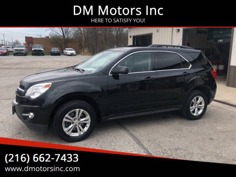 2011 Chevrolet Equinox for sale at DM Motors Inc in Maple Heights OH
