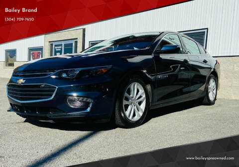 2018 Chevrolet Malibu for sale at Bailey's Pre-Owned Autos in Anmoore WV
