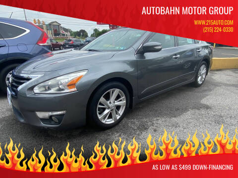 2014 Nissan Altima for sale at Autobahn Motor Group in Willow Grove PA
