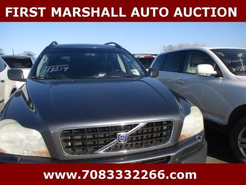 2005 Volvo XC90 for sale at First Marshall Auto Auction in Harvey IL