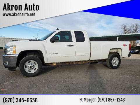 2012 Chevrolet Silverado 2500HD for sale at Akron Auto in Akron CO