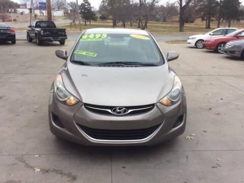 2011 Hyundai Elantra for sale at Harrison Family Motors in Topeka KS