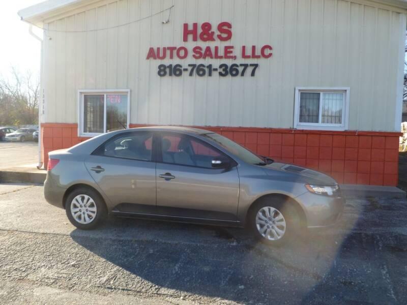 2010 Kia Forte for sale at H & S Auto Sale LLC in Grandview MO