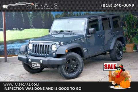 2017 Jeep Wrangler Unlimited for sale at Best Car Buy in Glendale CA