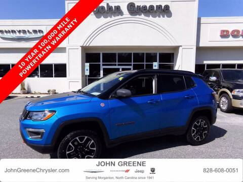 2020 Jeep Compass for sale at John Greene Chrysler Dodge Jeep Ram in Morganton NC