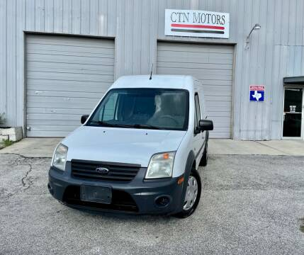2012 Ford Transit Connect for sale at CTN MOTORS in Houston TX
