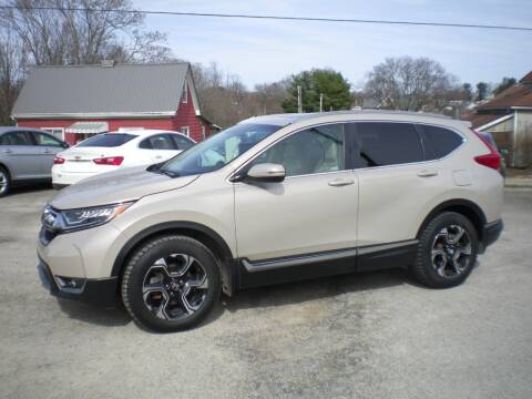 2018 Honda CR-V for sale at Starrs Used Cars Inc in Barnesville OH