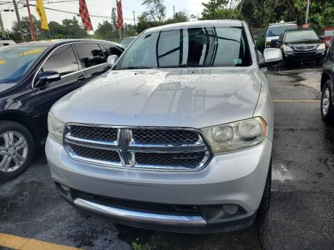 2012 Dodge Durango for sale at America Auto Wholesale Inc in Miami FL