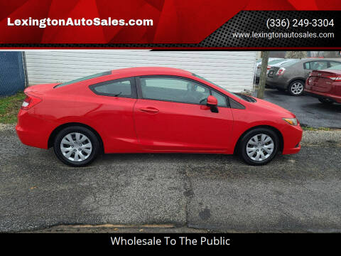 2012 Honda Civic for sale at LexingtonAutoSales.com in Lexington NC