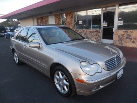 2002 Mercedes-Benz C-Class for sale at Auto 4 Less in Fremont CA