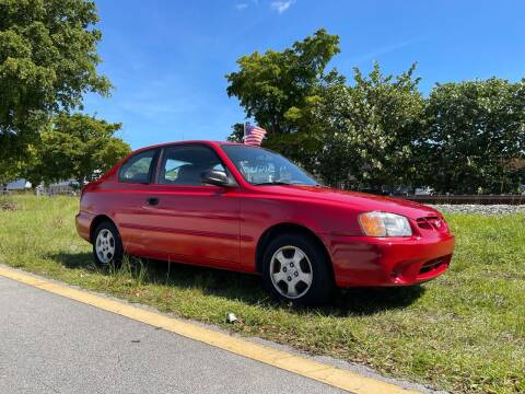 2002 Hyundai Accent for sale at WRD Auto Sales in Hollywood FL