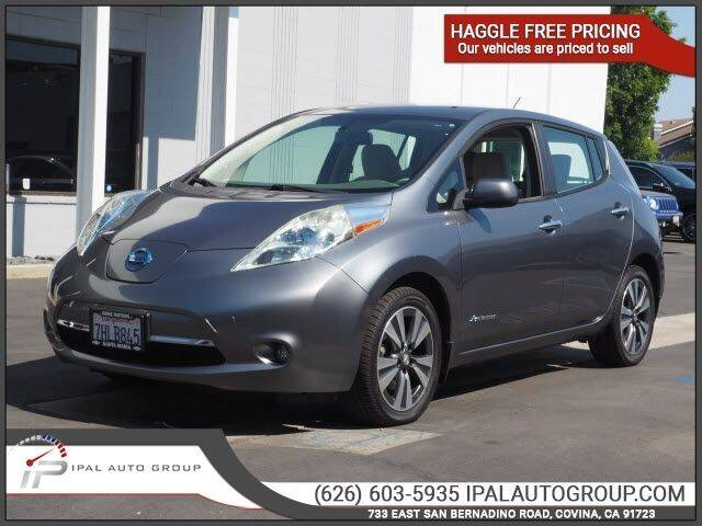 2015 Nissan LEAF for sale in Covina, CA