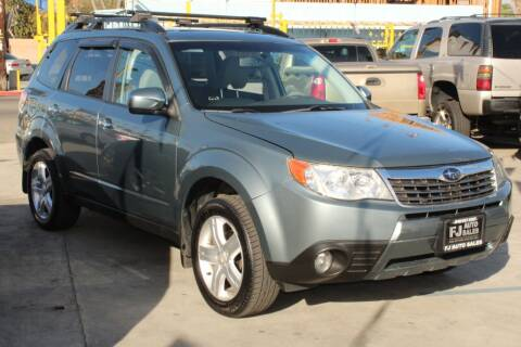 2009 Subaru Forester for sale at FJ Auto Sales in North Hollywood CA