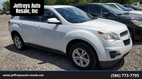 2012 Chevrolet Equinox for sale at Jeffreys Auto Resale, Inc in Clinton Township MI