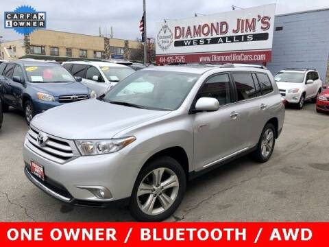 2013 Toyota Highlander for sale at Diamond Jim's West Allis in West Allis WI