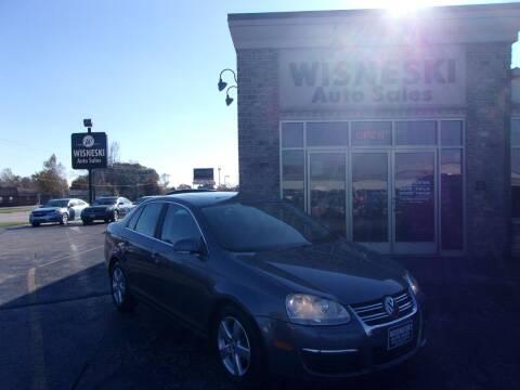 2008 Volkswagen Jetta for sale at Wisneski Auto Sales, Inc. in Green Bay WI