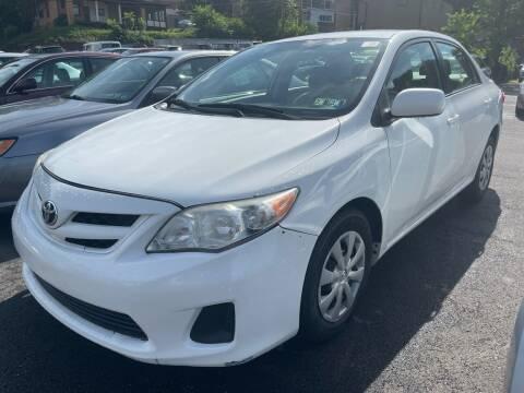 2011 Toyota Corolla for sale at Fellini Auto Sales & Service LLC in Pittsburgh PA